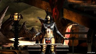 Mortal Kombat X All Test Your Might Deaths on D'vorah (HD)