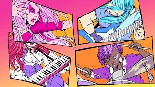 Jem and the Holograms Comic Book Music Video