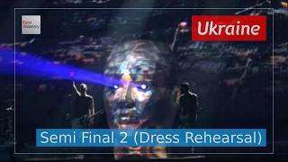 Ukraine Eurovision 2017 - Time (Semi Final 2 Dress Rehearsal, Live in 4K) - O.Torvald