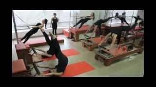 Aula coreografada de Pilates em Equipamentos- PHYSIO PILATES