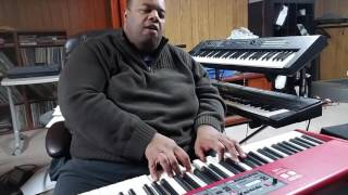 """Sweet Baby"" ... again (George Duke) performed by Darius Witherspoon (12/21/16)"