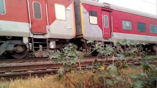 Fastest high speed Rajdhani Express Indian Railway