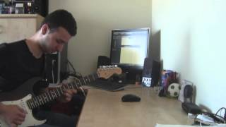 Joe bonamassa - Stop! Cover solo guitar by ariel kadosh