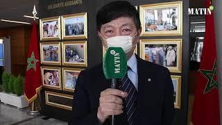 L'Ambassadeur du Japon visite l'exposition des FAR