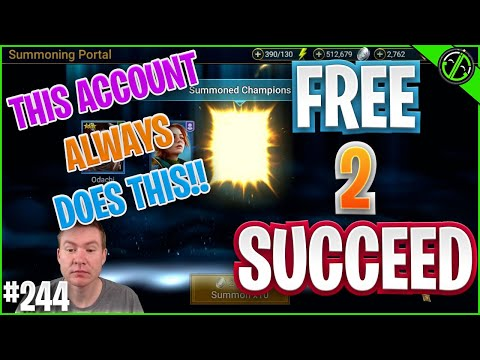 JUST A RANDOM 10 POP & THE F2P DOES IT AGAIN?!?! | Free 2 Succeed - EPISODE 244