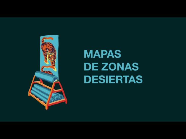 Video oficial de Mapas de Zonas Desiertas