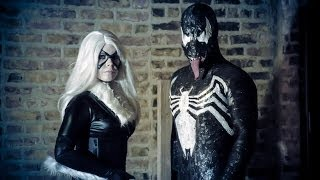 Venom's Pick Up Lines (Featuring Black Cat) - Spiderman Funny Marvel Parody