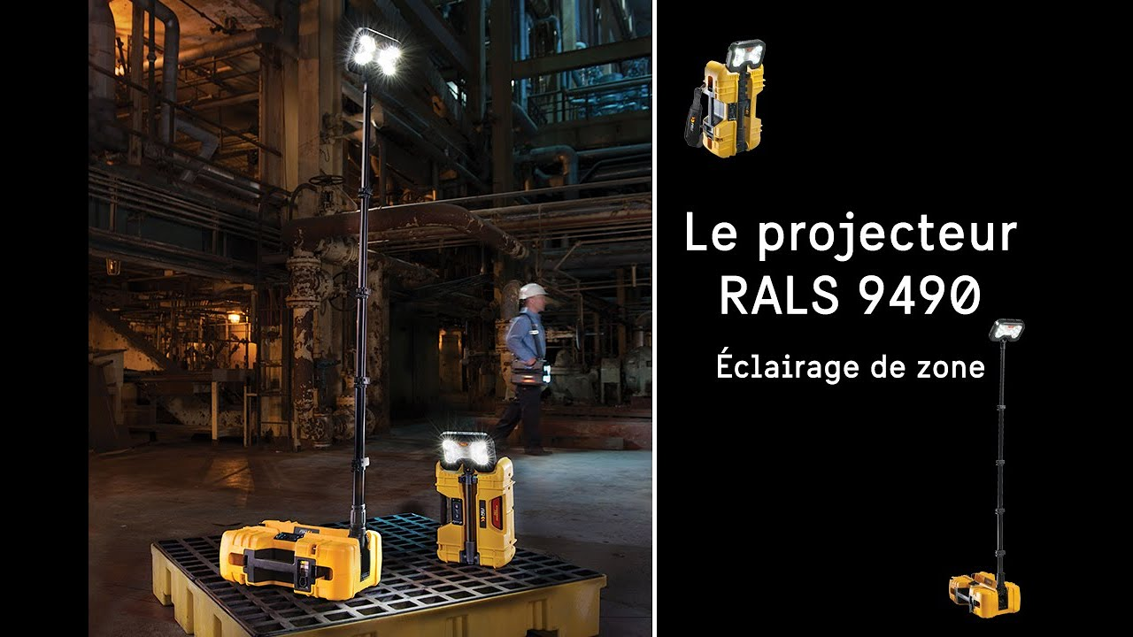 Eclairage de zone Peli™ 9490 RALS