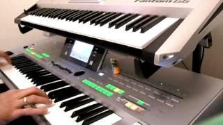 Tyros 3 & Fantom G6 W taką ciszę keyboard cover