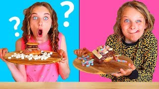 TWIN TELEPATHY OF DONUTS 2   Challenge By The Norris Nuts