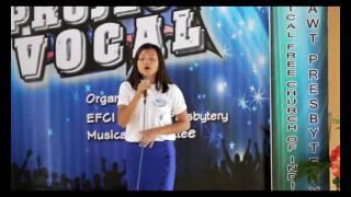 Grace Lalramchuani, Rengkai. Project Vocal 2017 Finalist.