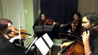 Moonlight Densetsu (Sailor Moon OP) string quartet cover - Spellbound Strings