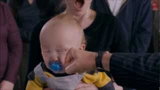 Punching A Baby In Slow Motion HD