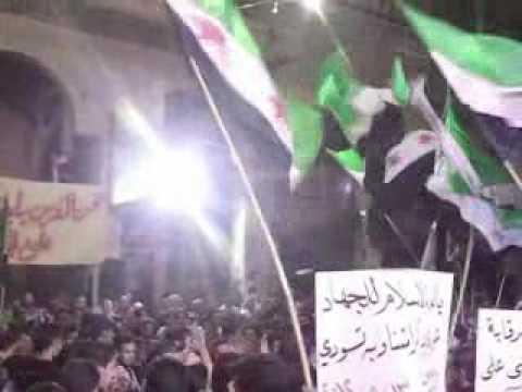 Syrie: manifestation dans la banlieue de Damas