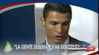 Cristiano Ronaldo se enfada por los gritos de ¡Messi... Messi! ante Ludogorets | 2014