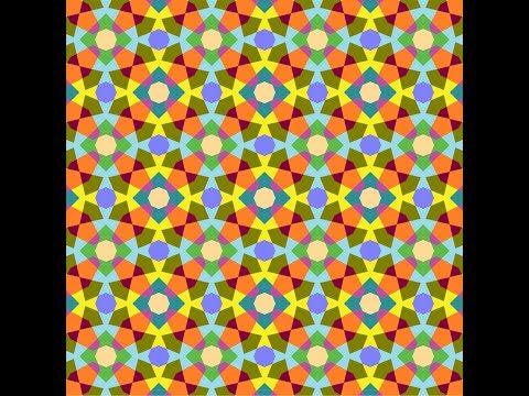 伊斯蘭的幾何拼貼 14B