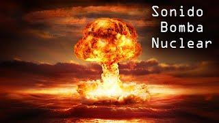 Sonido Bomba nuclear - Efecto alarma bombardeo
