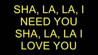 Die Flippers, Sha, la, la I Need you Karaoke