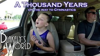 A Thousand Years on the way to Gymnastics | Blakely Bjerken