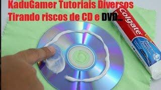 Como recuperar cd-dvd riscado com pasta de dente