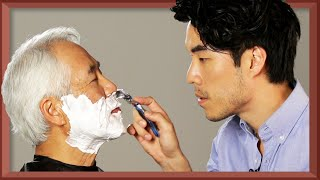The Try Guys Shave Their Dads • Fatherhood: Part 4 width=
