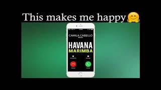 Camila Cabello & Young Thug - Havana ( Marimba Ringtone )