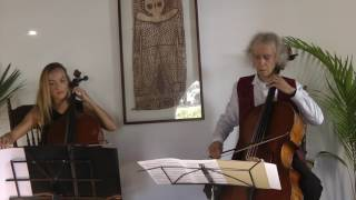 """Variations on """"La Folia"""" by M. Giuliani for 2 cellos"""