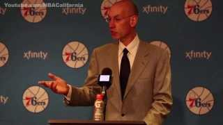 Commissioner Adam Silver On Van Gundy's Comments | March 01, 2014 | NBA 2013-2014 Season