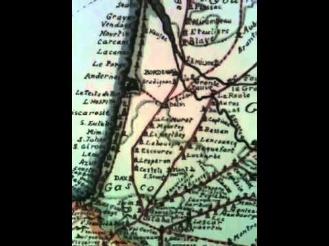 Short Map Ancient Pilgrim Routes