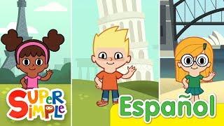 Hola ¿Que Tal? | Canciones Infantiles | Super Simple Español