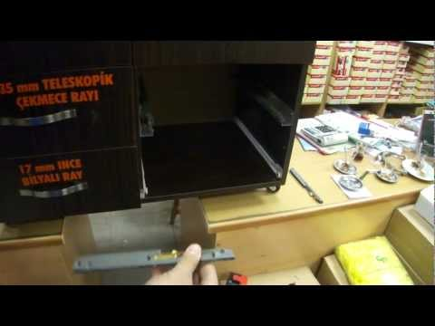 Marelli çekmece rayı frenleme mekanizması montajı! (www.hirdavatfirsati.com)