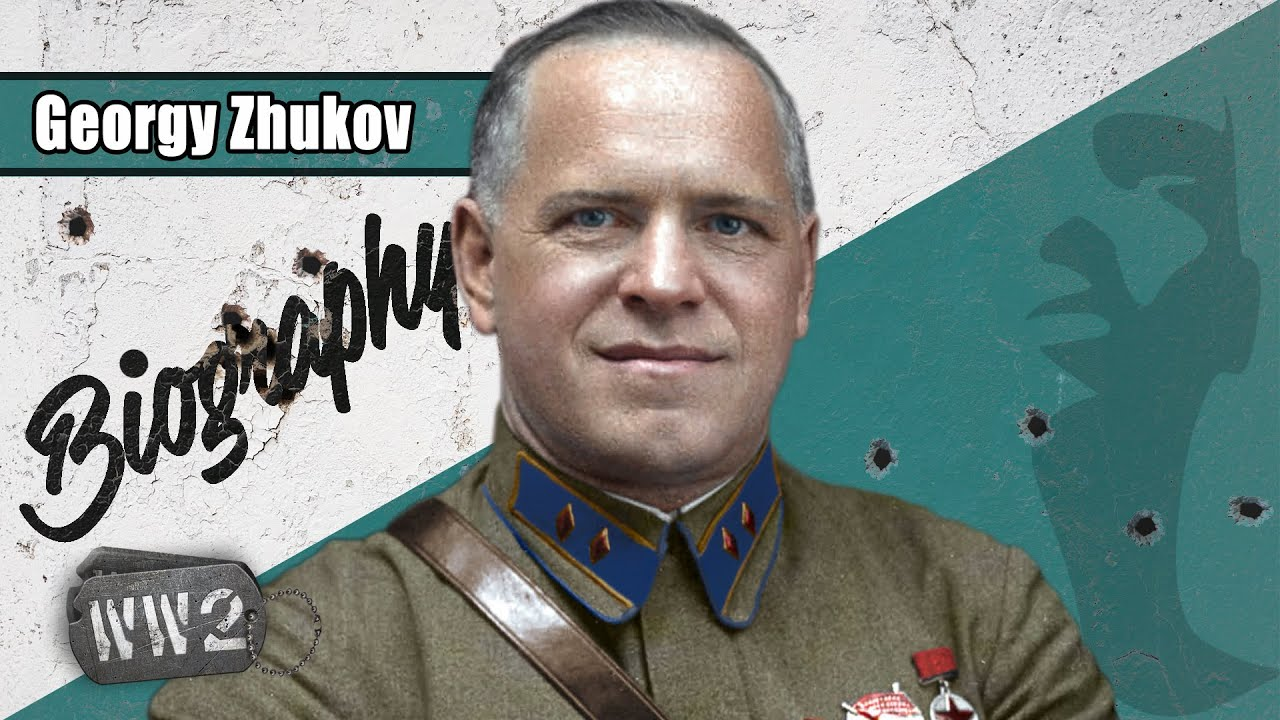 Georgy Zhukov - Hero of the Soviet Union! - WW2 Biography Special