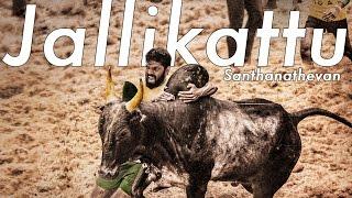 Jallikattu - Santhanathevan | Official Lyric Video | Yuvan Shankar Raja | Ameer | Arya | Vairamuthu width=