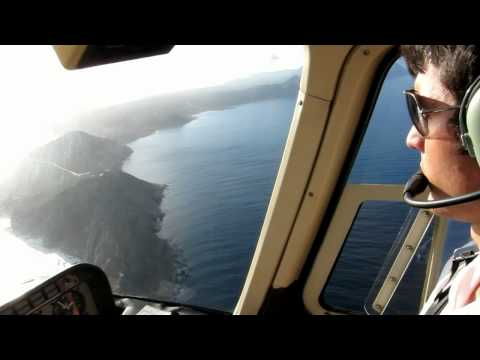 Helicopter tour on Cape Town