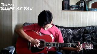 Shape of You - Ed Sheeran (Thomas Cover)
