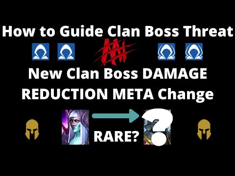 Damage Reduction in the Clan Boss and Threat Guide I Raid Shadow Legends