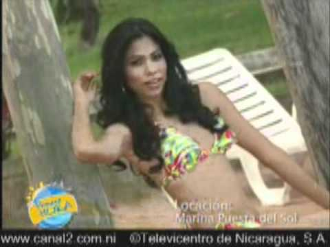 Candidatas a Miss Nicaragua 2012 en Traje de Baño Parte 2