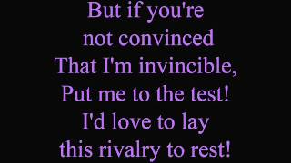 You're only second rate - lyrics
