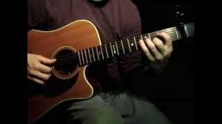 """Be Still"" by Kari Jobe (Guitar Cover)"