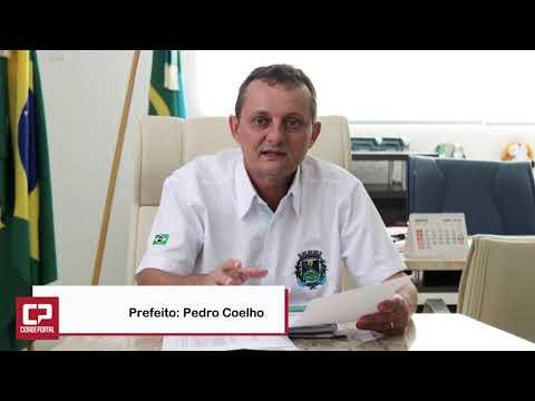 Prefeito Pedro Coelho realiza visita técnica na Santa Casa