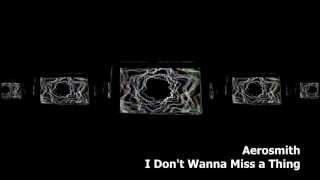 Aerosmith - I Don't Wanna Miss a Thing Remix