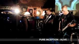 PURE INCEPTION - ALIVE 2012 - Army of me (Bjork cover)