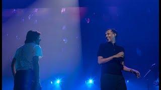 Stromae s'invite sur scène avec Orelsan - La pluie (2018)