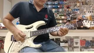 Por que dele por ele A ele a glória Instrumental Guitarra Ibanez Jem 555 Steve Vai - Estevão Dourado