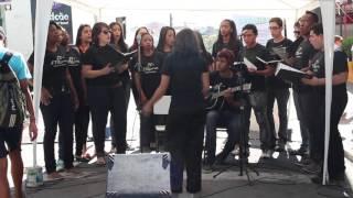 Coral de alunos da EMLavras - Playing for Change Day - Vou deixar (Skank)