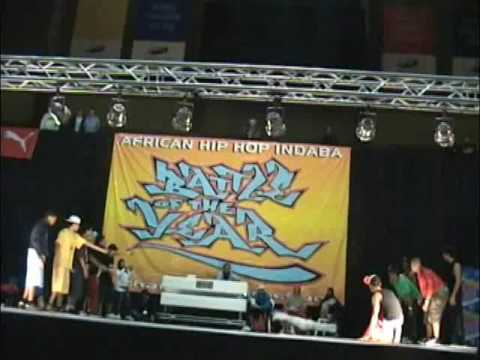 LHIBA kingzoo vs  Immortal Style   semi final BOTY AFRICA 2009 part2