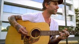 "Ben Nichols (Lucero) performs ""I'll Just Fall"" on Robert Childs' guitar"