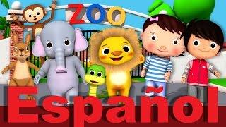 La canción del zoo | Canciones infantiles | LittleBabyBum