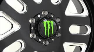 Monster Energy 539BM Wheel Rims 20x9