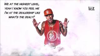 Tyga ft. Kanye West - Feel Me | Lyrics on Screen